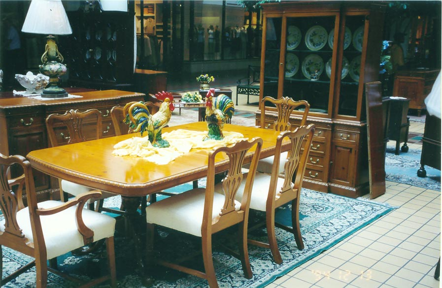 Antique Dining Room Furniture 1930 Image And
